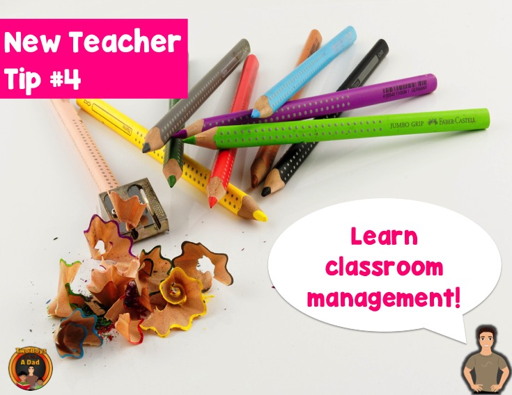 New teacher tip learn classroom management