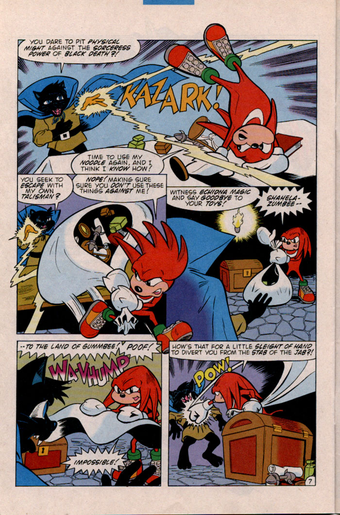 Read online Sonic The Hedgehog comic -  Issue #45 - 26
