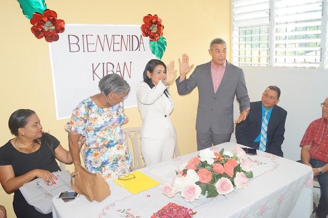 Director Regional juramenta nueva Directora Distrital