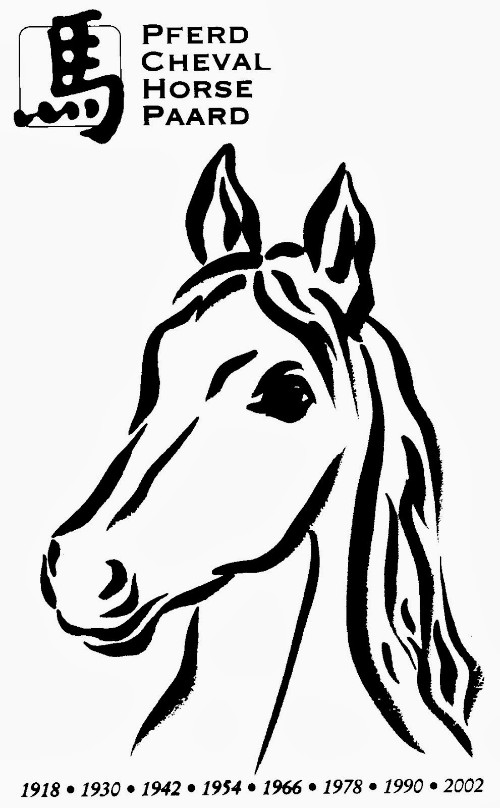 malvorlagen pferdekopf  malvorlagen