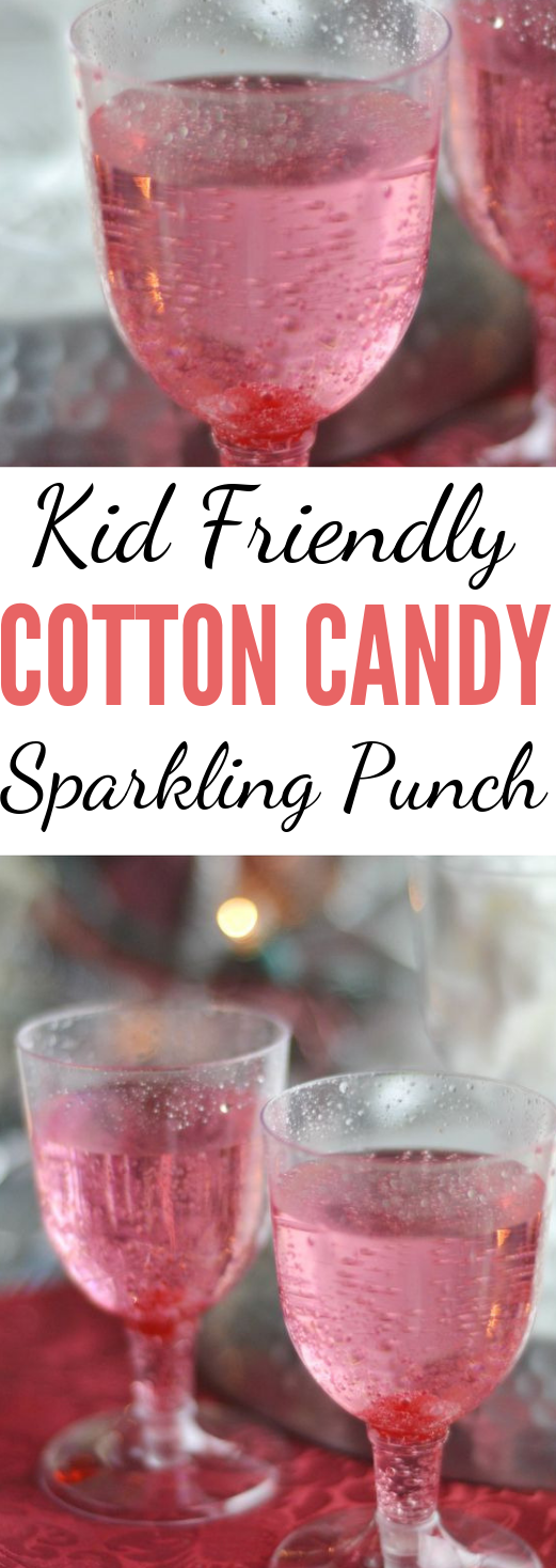 KID FRIENDLY COTTON CANDY DRINK RECIPE #drink #cocktail