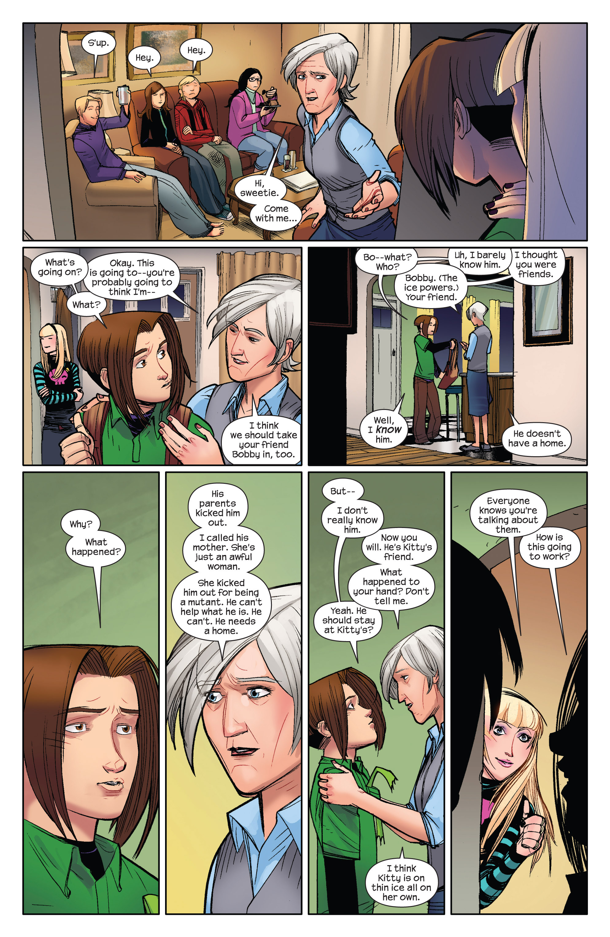 Read online Ultimate Spider-Man (2009) comic -  Issue #5 - 18