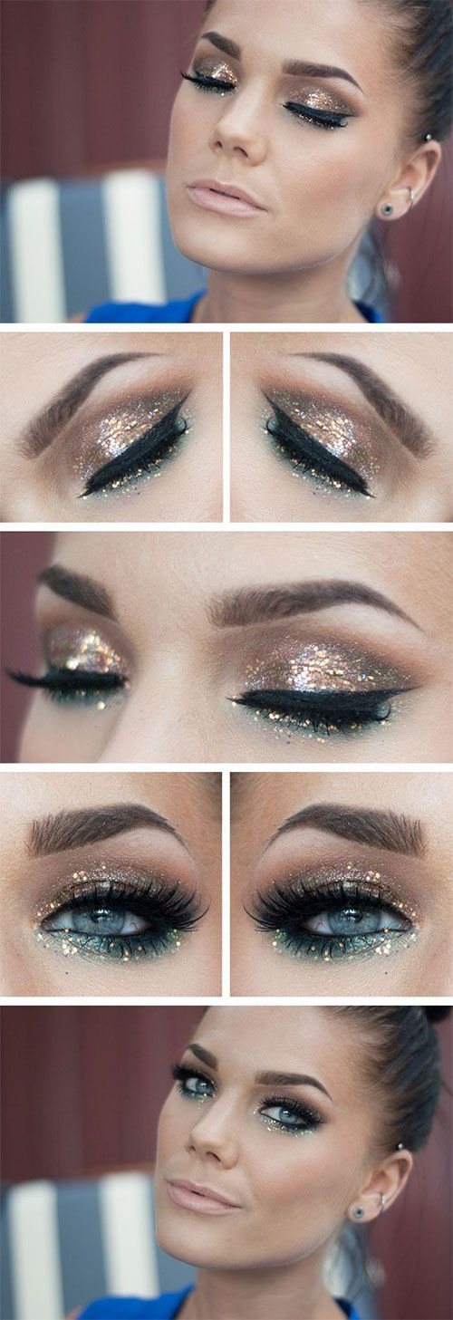 20 PERFECT NEW YEAR EVE MAKEUP IDEAS
