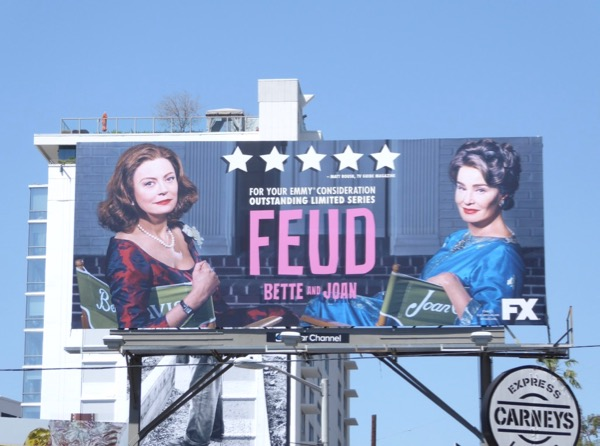 Feud Bette and Joan 2017 Emmy billboard