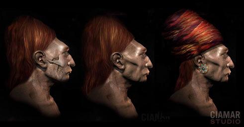 elongated skull artistic - El análisis de ADN de los cráneos alargados de Paracas ha sido publicado. Resultados increibles
