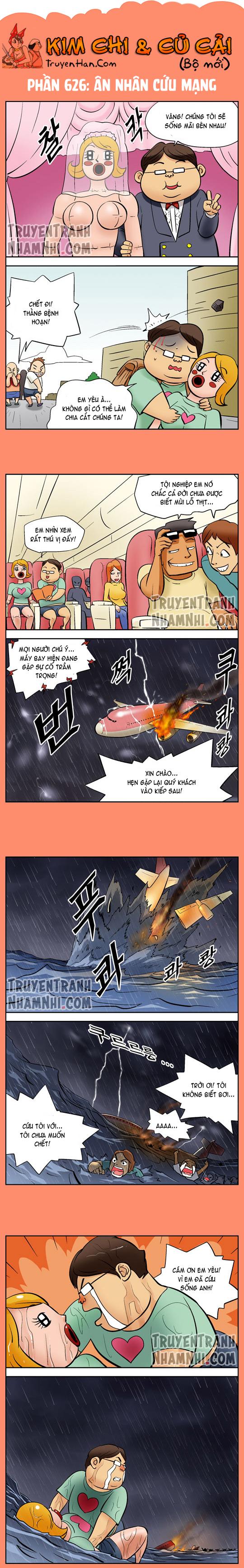 Kim Chi Và Củ Cải phần 626: Ân nhân cứu mạng