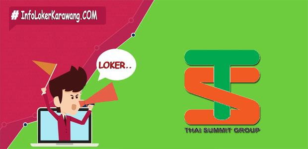 Lowongan Kerja PT. Thai Summit Harness Indonesia Juli 2017
