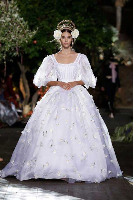 Desfile Dolce & Gabbana noiva