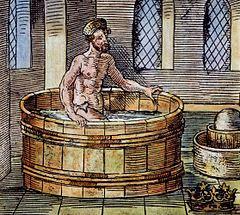 Arquímedes en el baño y la corona