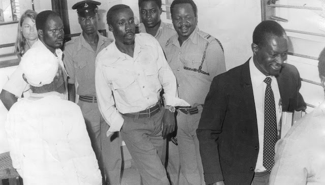 Corporal Fenwicks Chesoli, hanged in 1986 as one of the key actors of the 1982 coup in Kenya