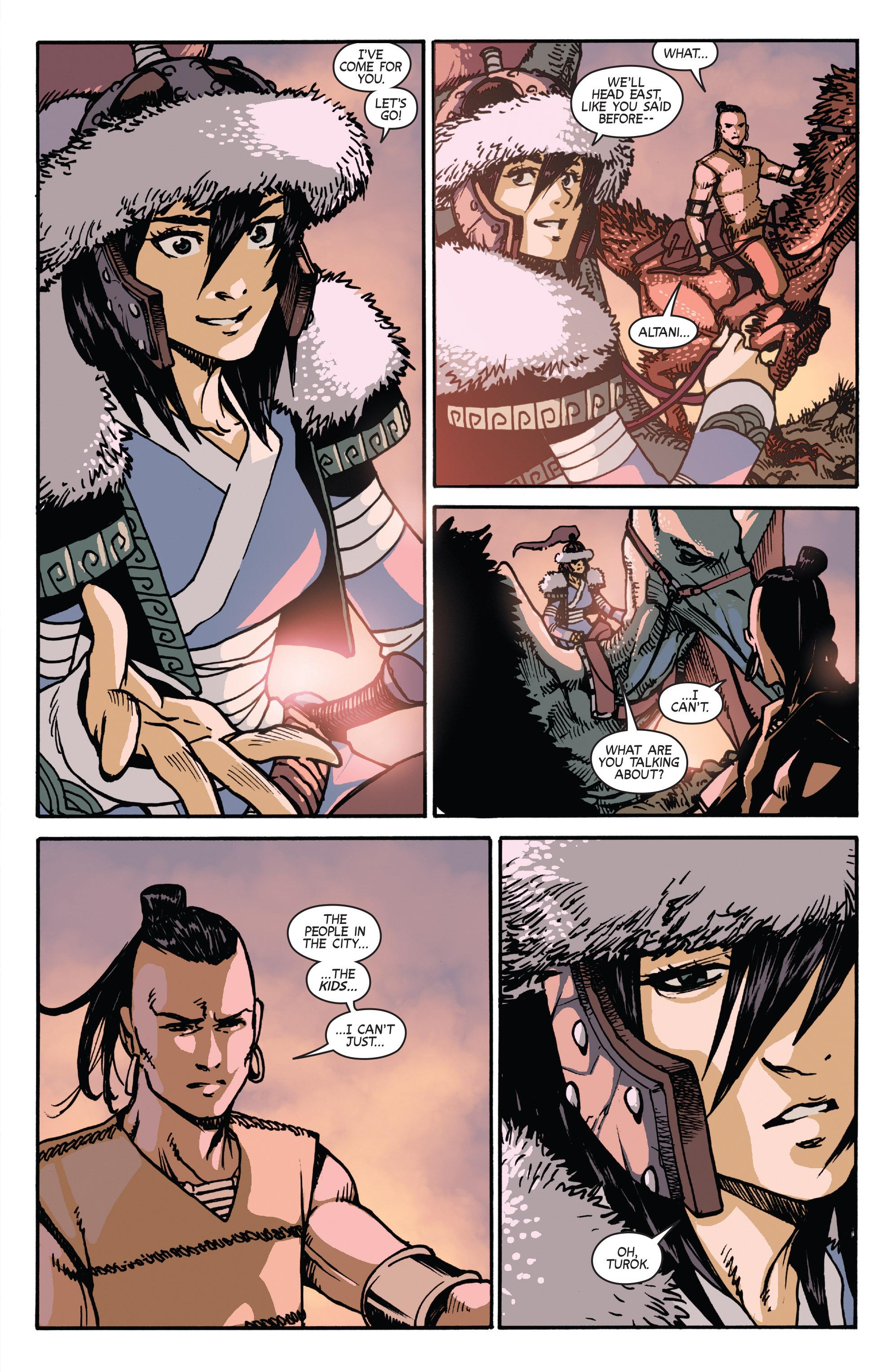 Read online Turok: Dinosaur Hunter (2014) comic -  Issue # _TPB 2 - 63