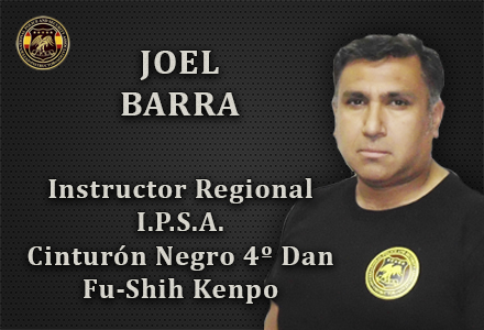 JOEL BARRA INSTRUCTOR REGIONAL IPSA INTERNATIONAL POLICE AND SECURITY ASOCCIATION IPSA