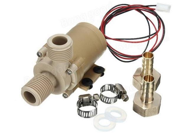Solar Hot Water Pump Brushless DC Motor 12V