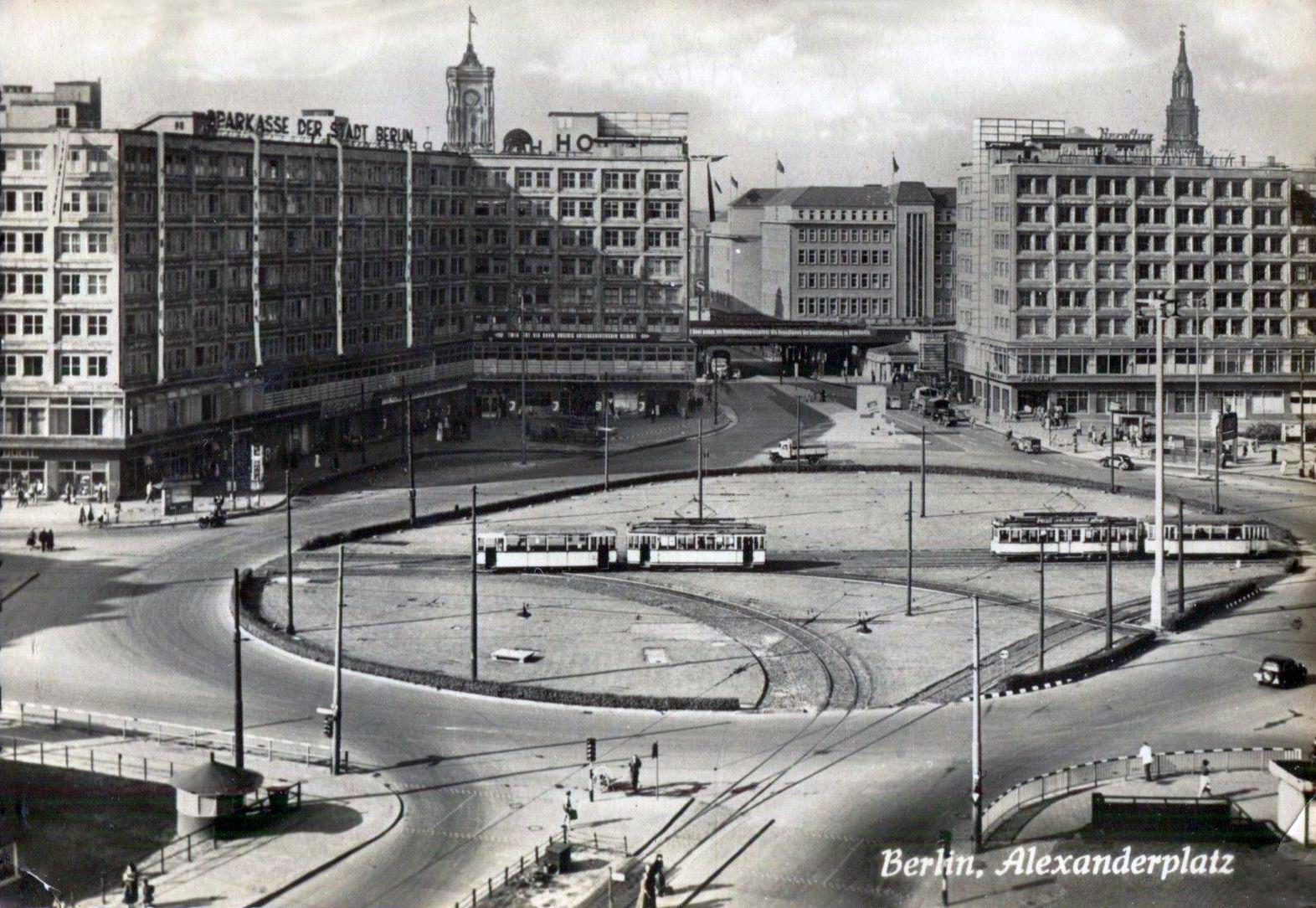 Potsdamer Platz Alexanderplatz