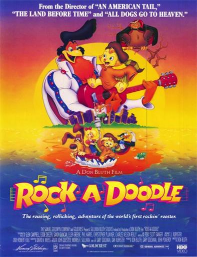 Ver Amigos inseparables (Rock-A-Doodle) (1991) Online