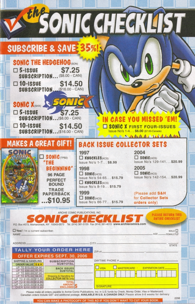 Read online Sonic The Hedgehog comic -  Issue #167 - 9
