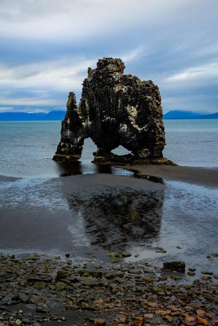 Hvitserkur, Iceland elephant rock