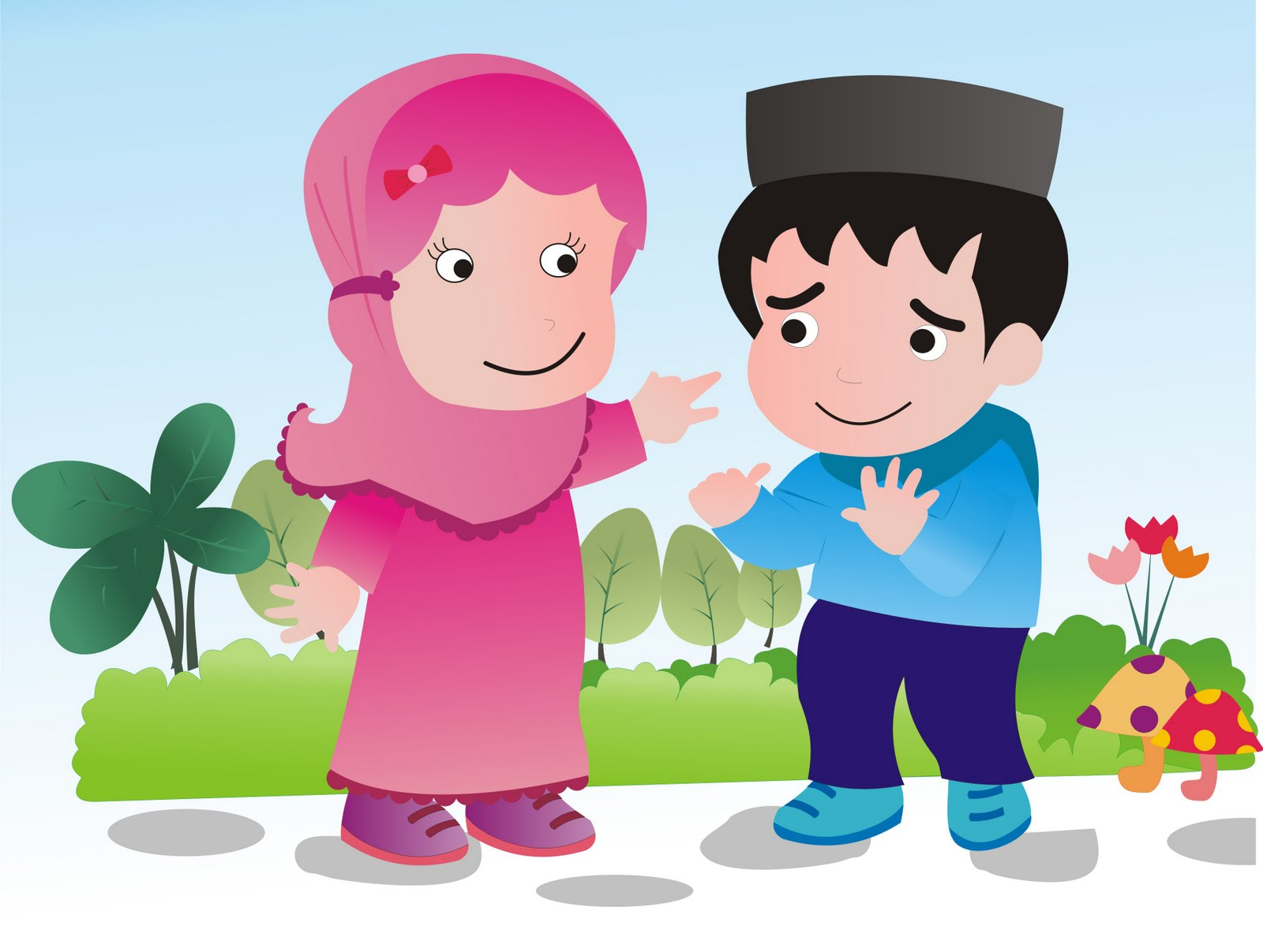 Gambar Kartun Islami Indonesiadalamtulisan Terbaru 2014