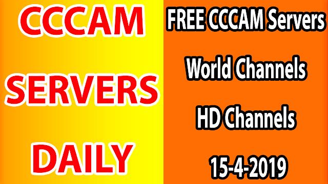 FREE CCCAM Servers World Channels +Sport HD Channels 15-4-2019
