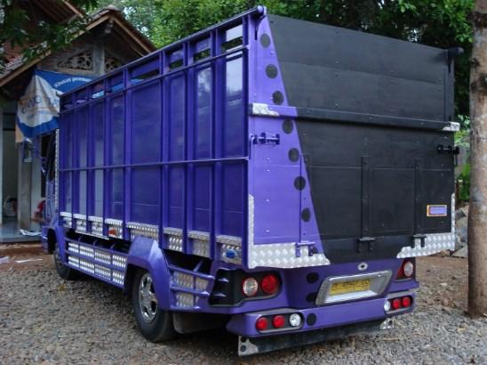 modifikasi bak truk hino dutro