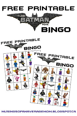 Lego Batman Party Games
