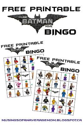 Lego Batman Party Games