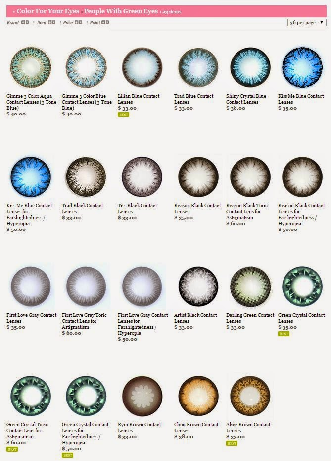 Desio Eyes Contact Lenses | 3 Colors | Dark Brown Eyes ... |Blue Contacts On Black People