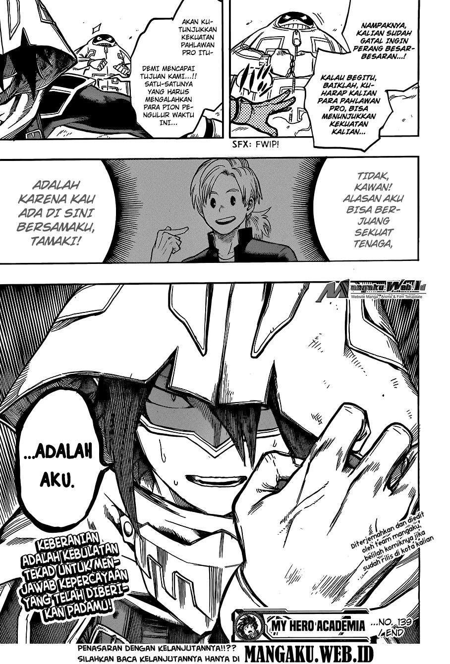 Boku no Hero Academia Chapter 139-18
