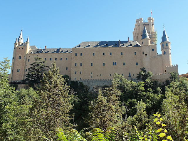 bästa slott i Spanien