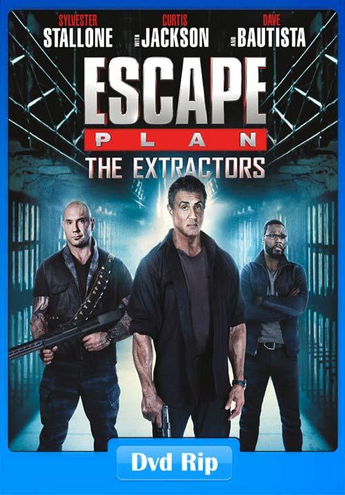 Escape Plan The Extractors 2019 DVDRip ESub x264 | 480p 300MB | 100MB HEVC