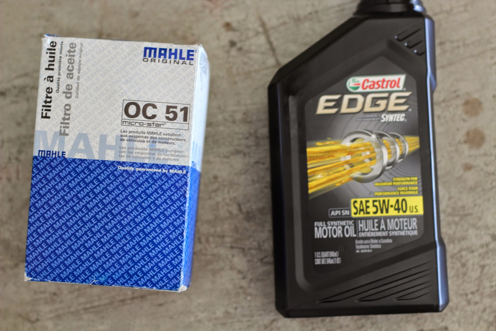 medium resolution of 5 i have been using oc 51 mahle filter and sae 5w 40 castrol take new filter and dip screw driver into fresh oil lubricate the rubber seal on the