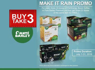 Buy 3 Take 3 JULY PROMO