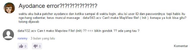 Pertanyaan Ayodance Error? Dari Yahoo Messenger
