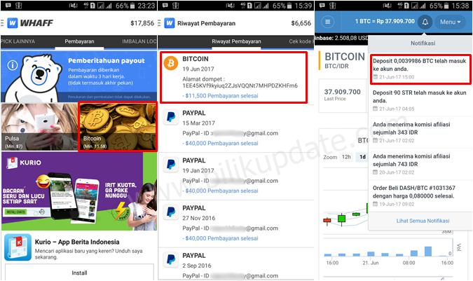 Mendapatkan Bitcoin Gratis dari 4 Situs Web Terpercaya Ini!