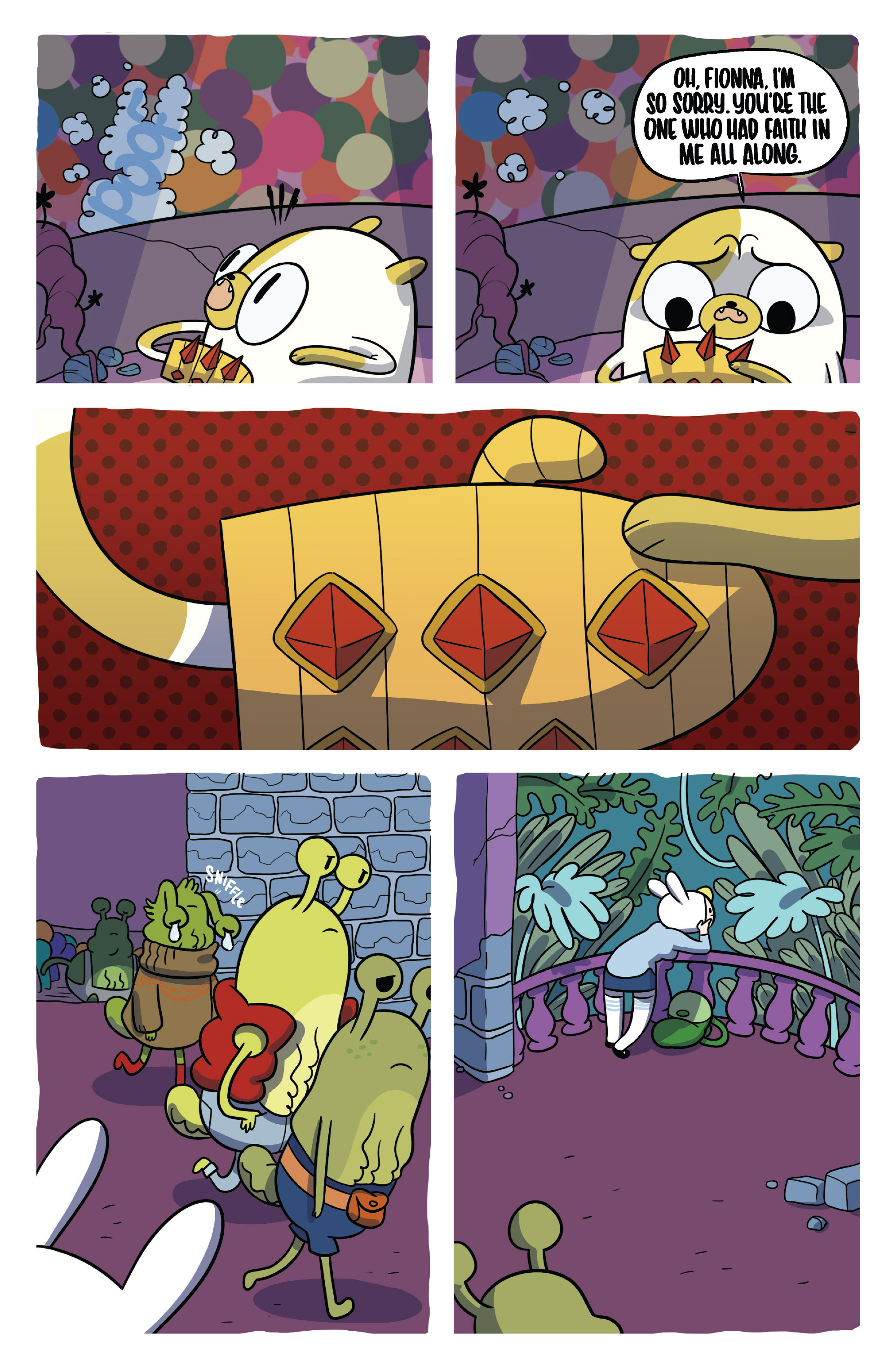 Read online Adventure Time Fionna and Cake Card Wars comic -  Issue #5 - 13