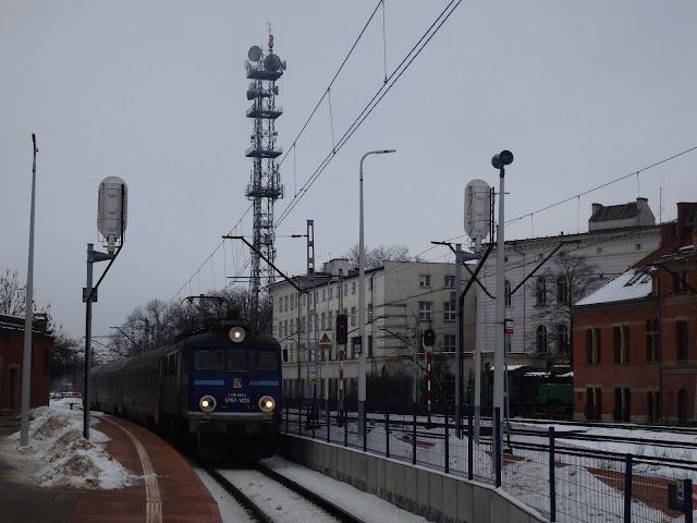 """Intercity Słupsk/Kołobrzeg - Przemyśl (""""Malczewski"""") na stacji Opole Główne"""