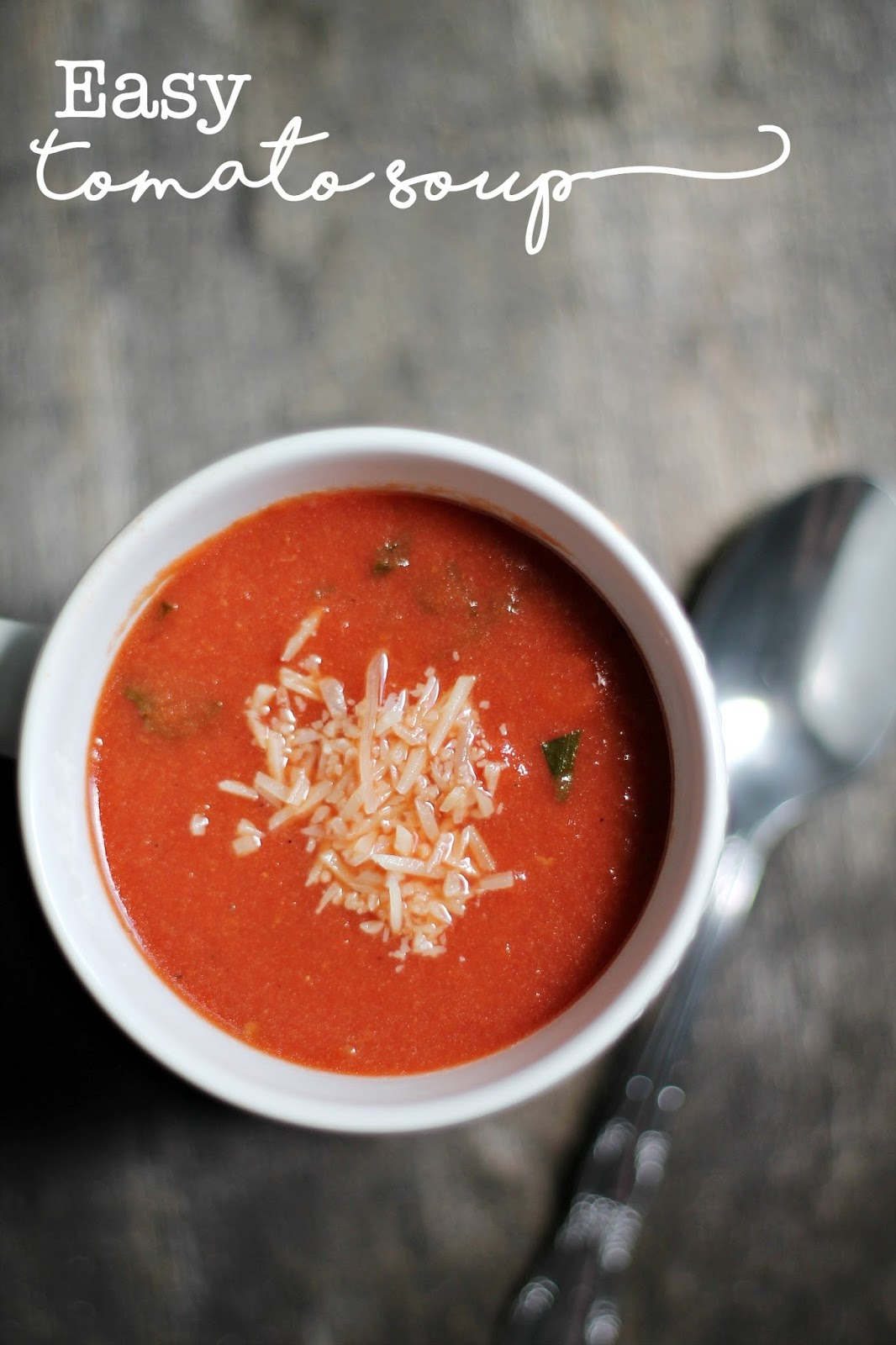 Easy Tomato Soup Louisiana Bride