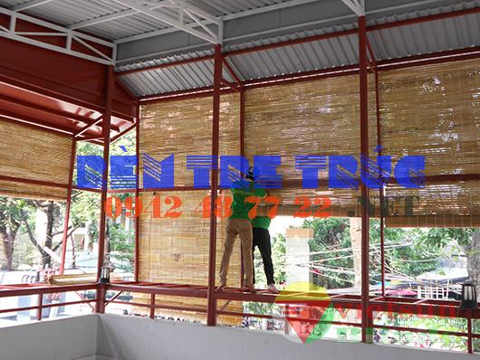 mành tre trúc chống nắng giá tốt tại Sài Gòn