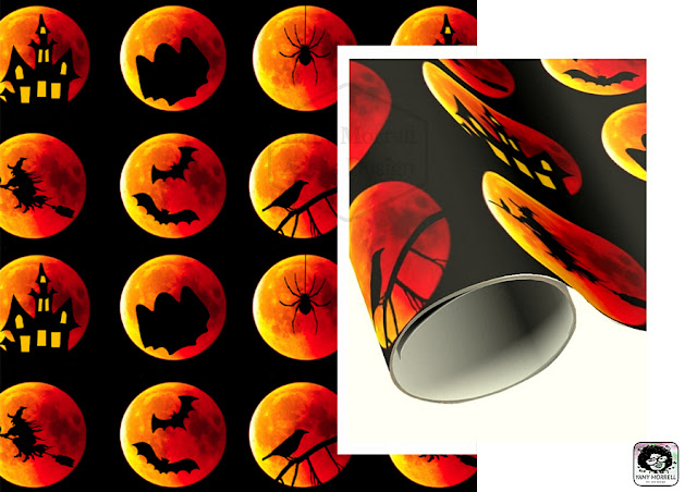 Halloween-wrapping-paper-pattern-design-by-yamy-morrell