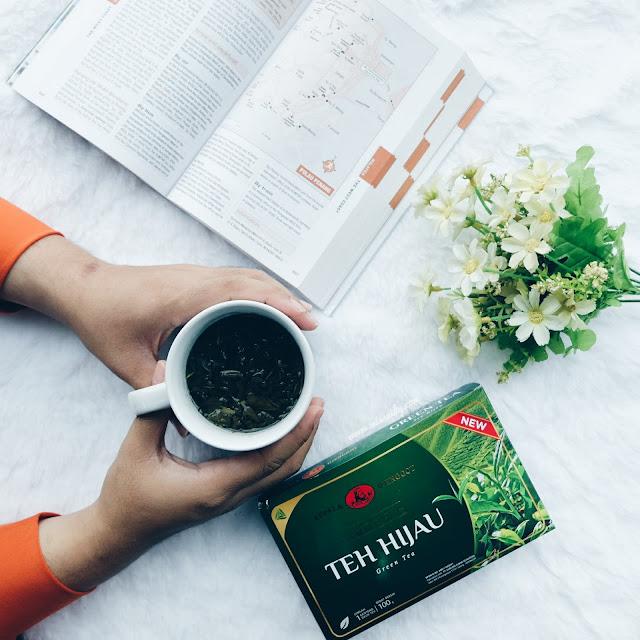teh hijau kepala djenggot untuk kesehatan