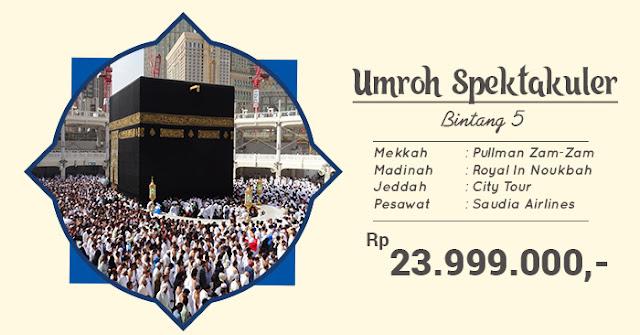 Umroh Oktober Jakarta 2019