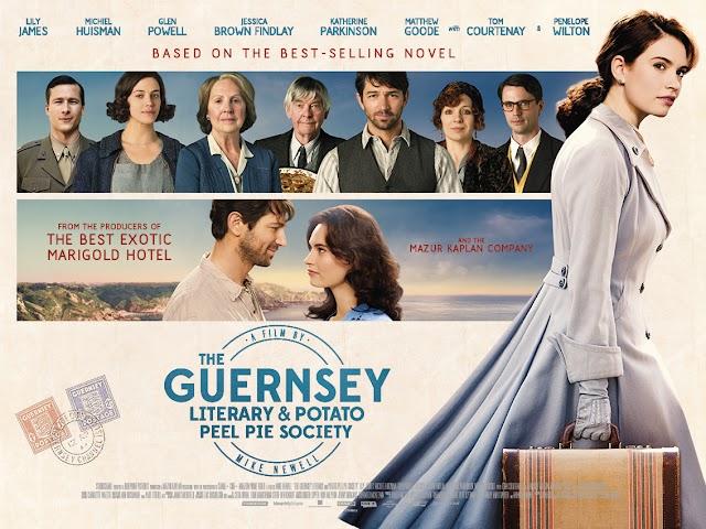 Review Film The Guernsey Literary and Potato Peel Pie Society 2018: Perjuangan para pecinta buku sastra