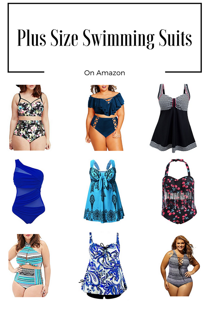 Plus Size Swimming Suits From Amazon