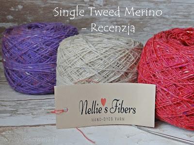 Single Tweed od Nellie i czapka Malinowy Chruśniak