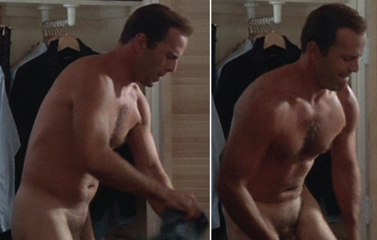 Naked bruce willis MrMan
