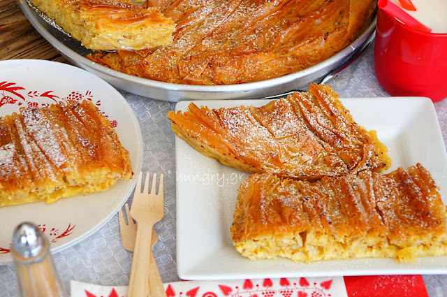 Traditional Milk Pie-Galatopita