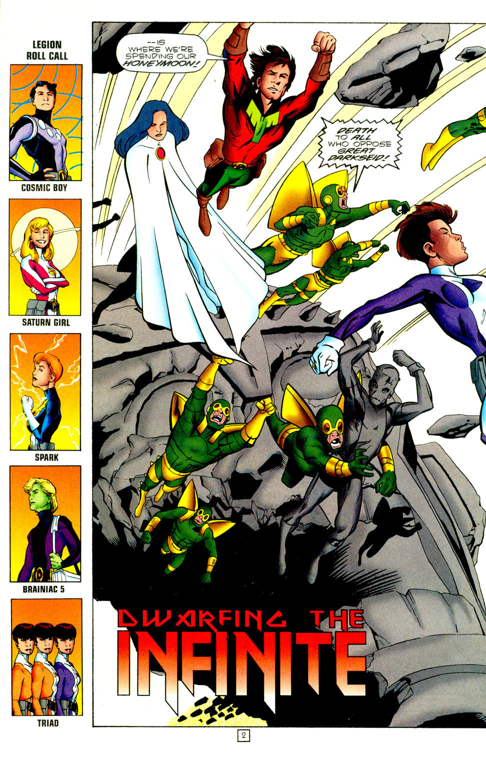 Legion of Super-Heroes (1989) 97 Page 22