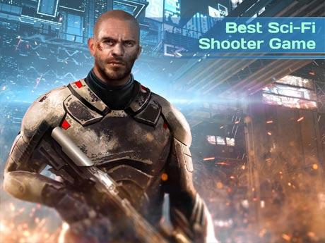 Dead Earth Sci-fi FPS Shooter Terbaru Gratis Oktober 2016