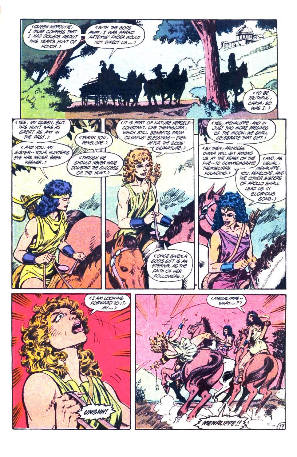 Read online Wonder Woman (1987) comic -  Issue #32 - 20