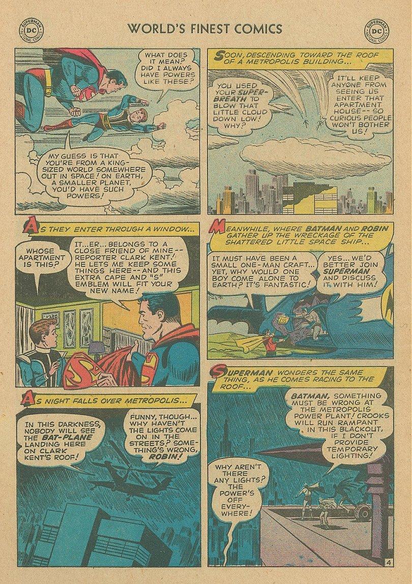 Read online World's Finest Comics comic -  Issue #92 - 19